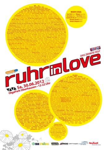Ruhr in Love Flyer